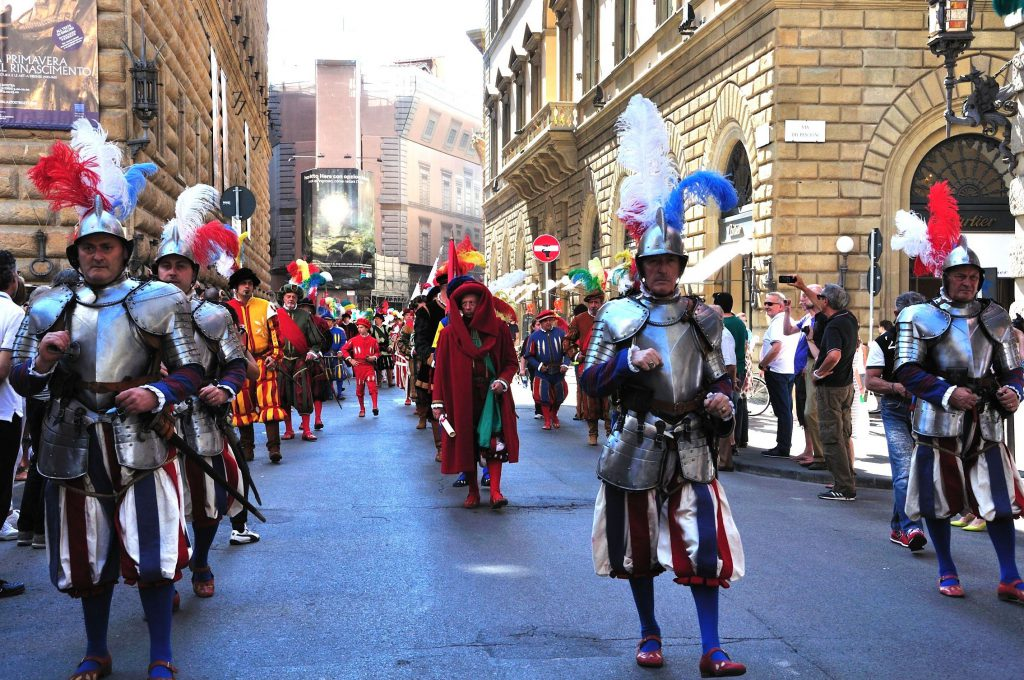 Changing of the Guards in Florence on February 5th