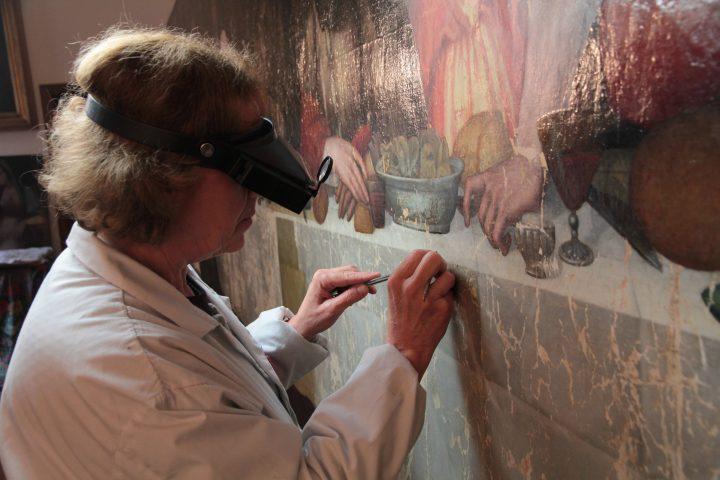 Restoration of Plautilla Nelli: TheFirstLast in Florence Tuscany