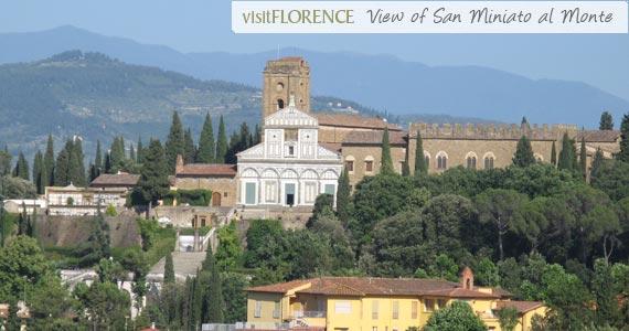 San Miniato al Monte in Florence, Italy