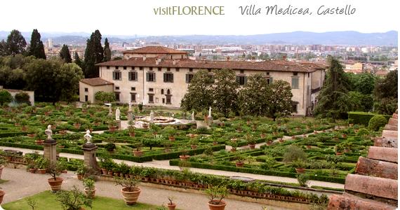 Medici villa castello visit the villa and its italian for Villas firenze