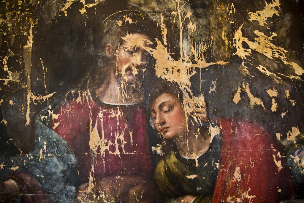 Detail from Last Supper by Plautilla Nelli