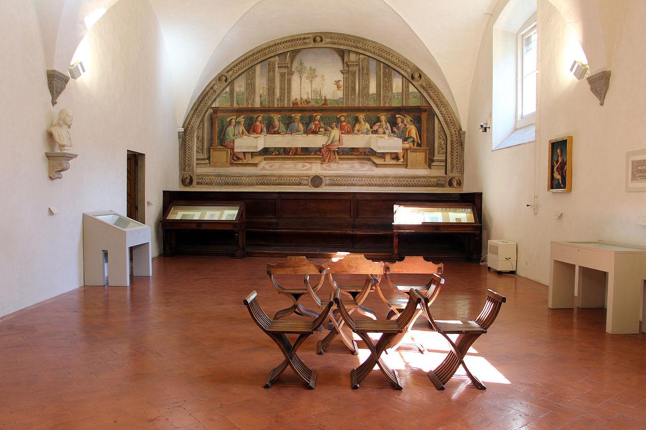 Cenacolo di Fuligno in Florence Tuscany