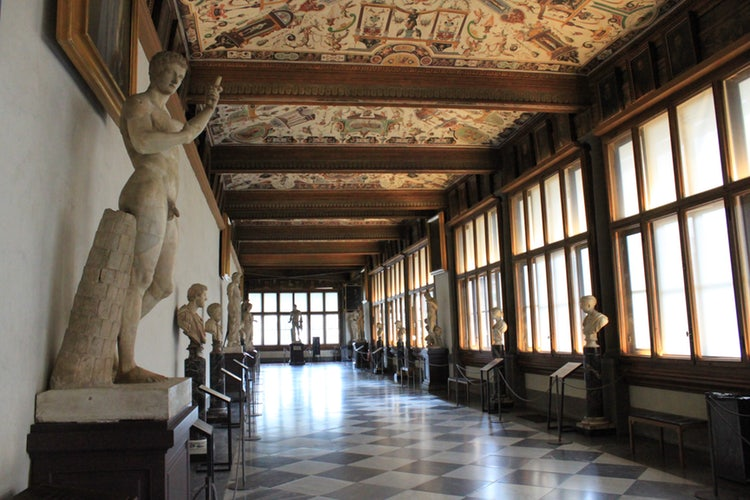 Entrance tickets for Uffizi and Florence Archeological Museum