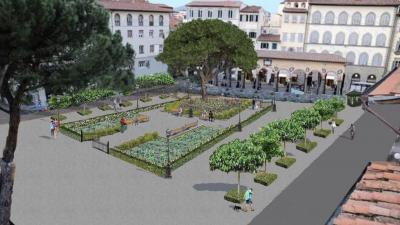 The plans for piazza dei ciompi visit florence news for Piazza dei ciompi