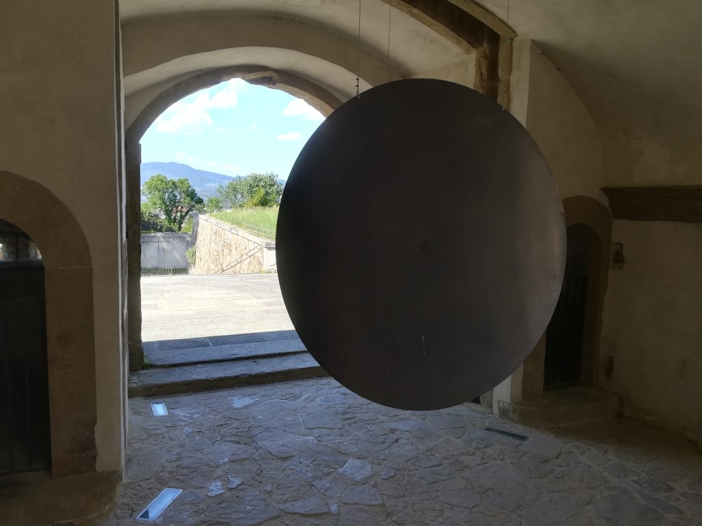 GONG: Eliseo Mattiacci at Fortress di Belvedere