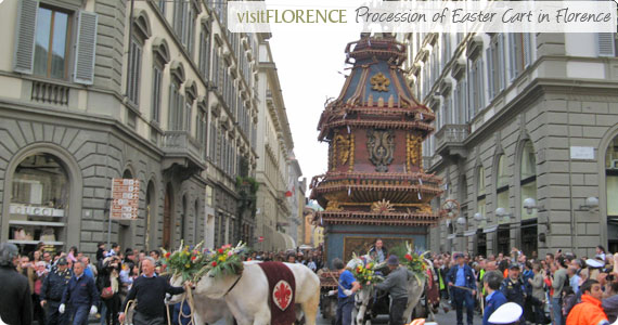Easter In Florence: Explosion Of The Cart